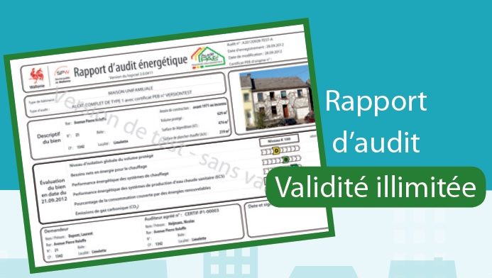 Page for Audit energetique maison